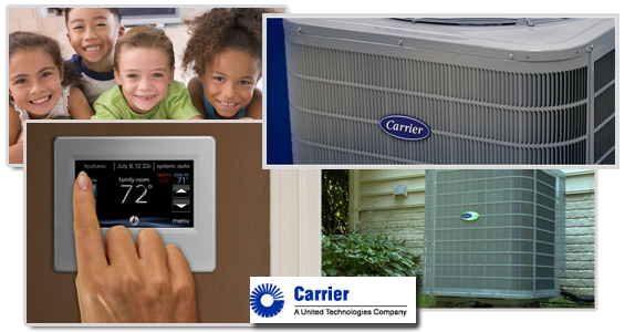 Carrier heating and air-conditioning systems